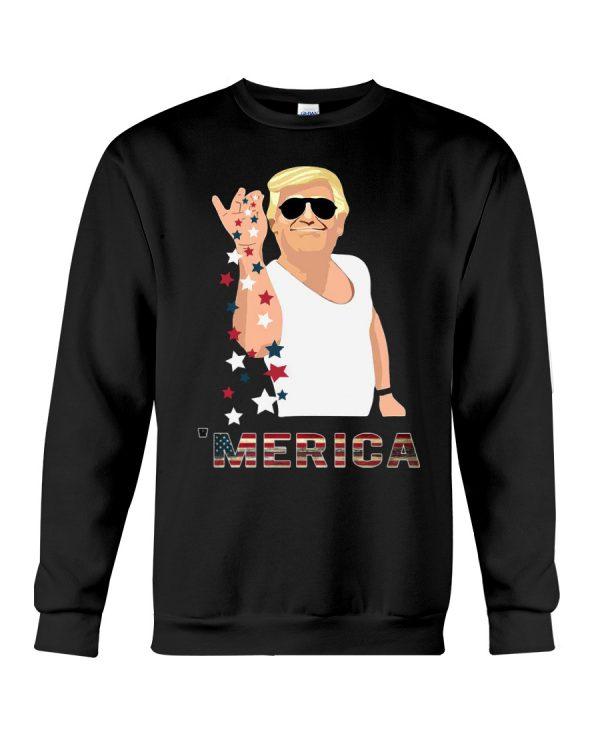 Trump Merica Salt Bae shirt2