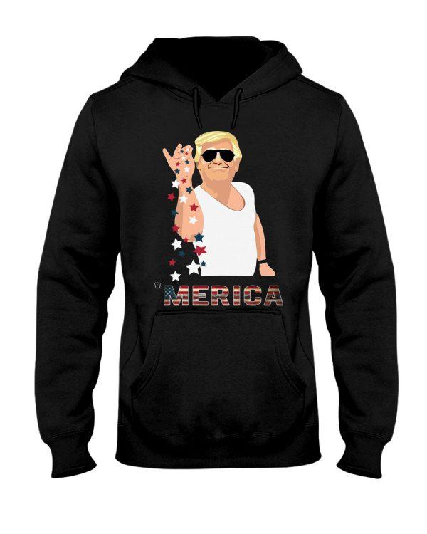 Trump Merica Salt Bae shirt