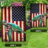Turtle US American flag