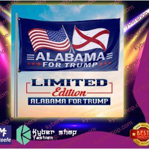 USA albama for trump flag