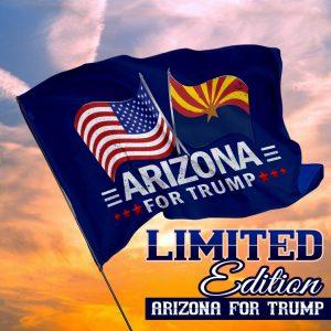 USA arizona for trump flag