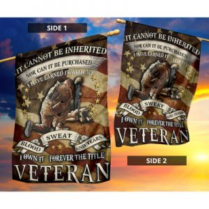 Veteran It cannot be inherited nor can it be purchased flag