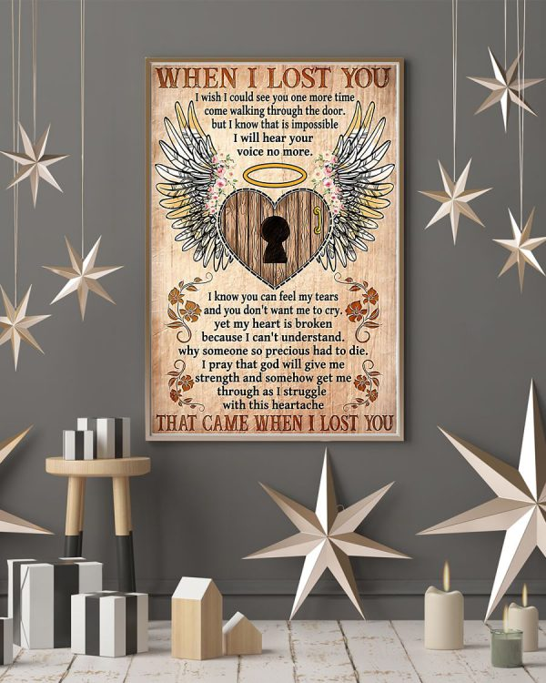 When I lost you Heaven poster
