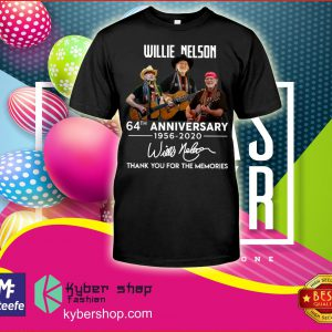 Willie Nelson th anniversary thank you for the memories shirt