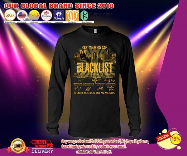 07 years of the Blacklist shirt