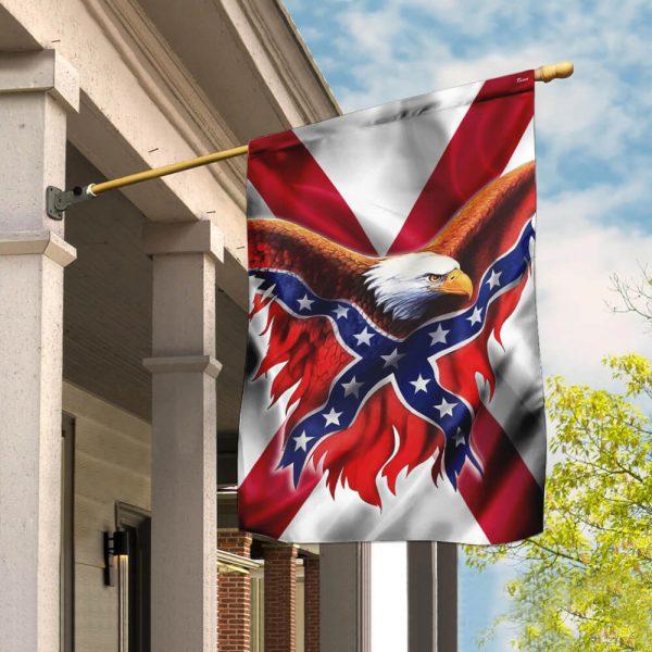 Alabama Confederate American flag