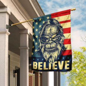 Bigfoot American Flag