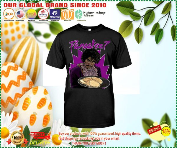 Black man Pancakes shirt