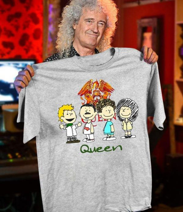 Charlie Brown queen band shirt