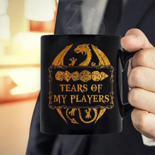 Dragon tears of my players mug