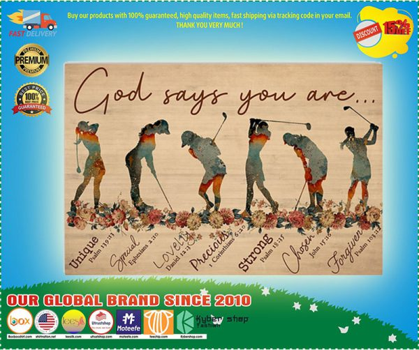 God Says You Are Golfers poster