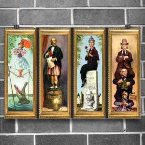 Haunted Mansion Stretching Room Poster