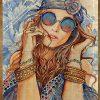 Hippie life gypsy soul fairy spirit wild heart poster