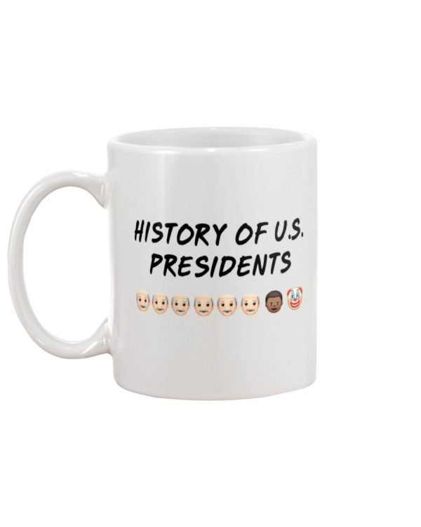 History of U.S presidents mug