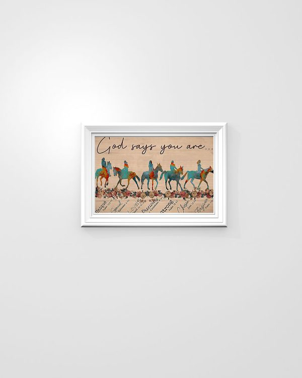 Horse God Says You Are poster