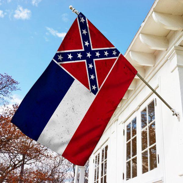 Mississippi American US Flag