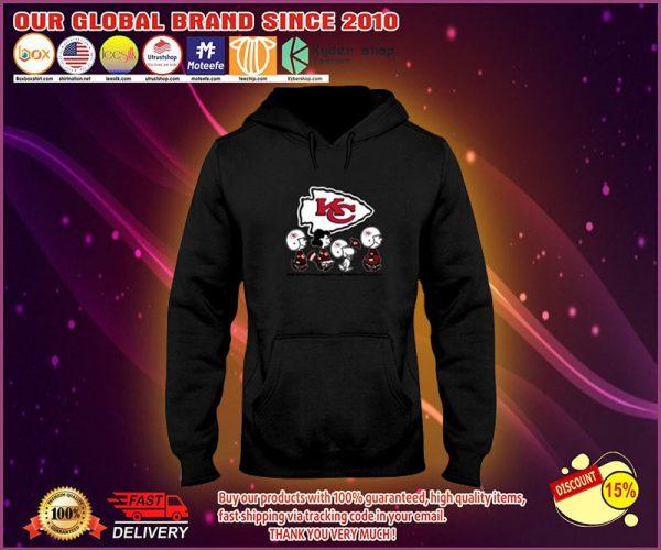 Snoopy Charlie Brown Kansas Chief city hoodie