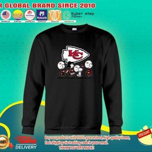 Snoopy Charlie Brown Kansas Chief city sweatshirts