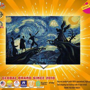 Starry night poster