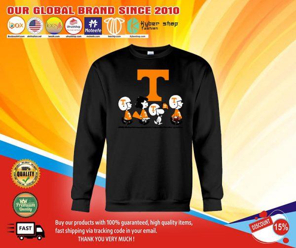 Tennessee Volunteers Snoopy Charlie Brown Sweats shirt.