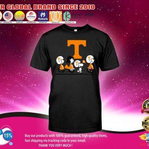 Tennessee Volunteers Snoopy Charlie Brown Long Sleeve shirt.