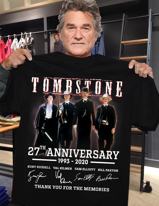 Tombstone th anniversary shirt