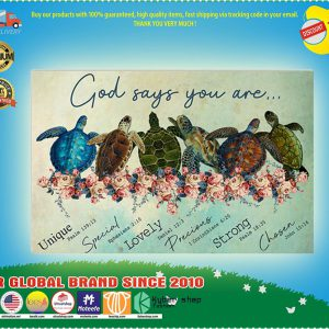 Turtle God says you are poster