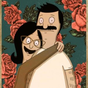 Bob and Linda belcher you and me we got this poster