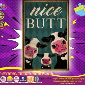 Cow nice butt poster
