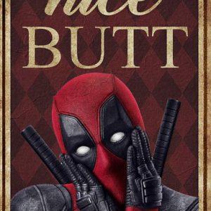 Deadpool nice butt poster
