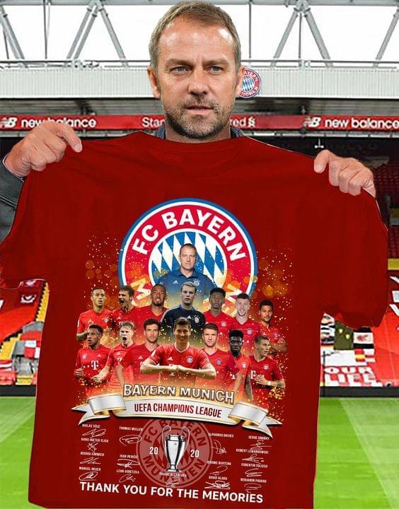 FC Bayern munich UEFA champions league 2020 shirt