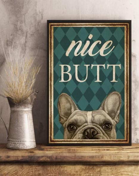French Bulldog Nice Butt poster