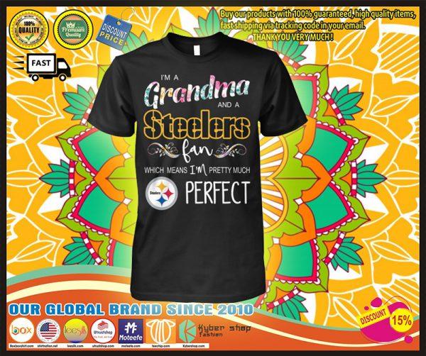 I'm a grandma and a Steelers fan shirt