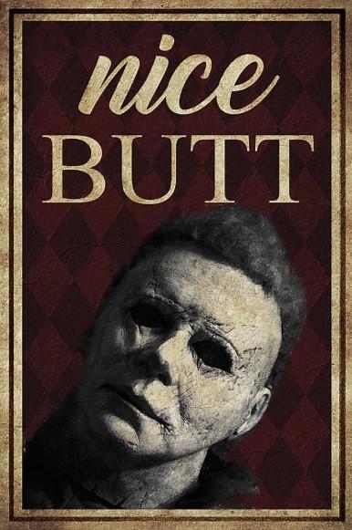 Jackson Voorhees nice butt poster
