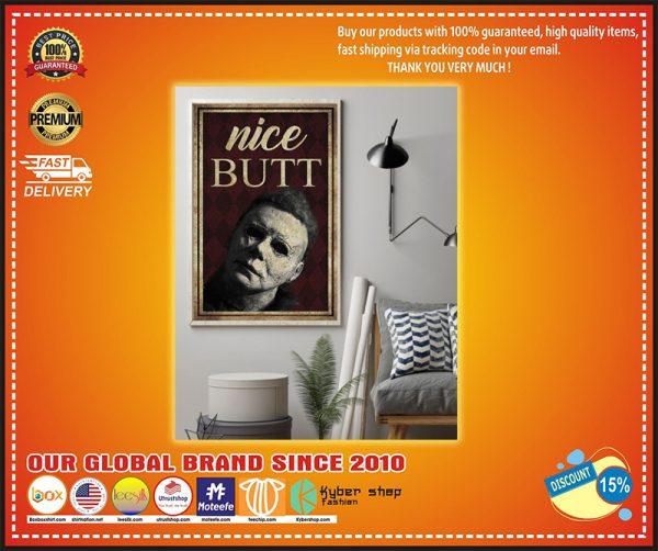 Michael Myers nice butt poster