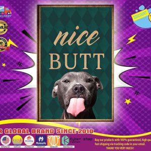 Pitbull nice butt poster
