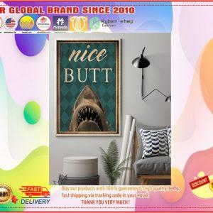 Poster Shark nice butt
