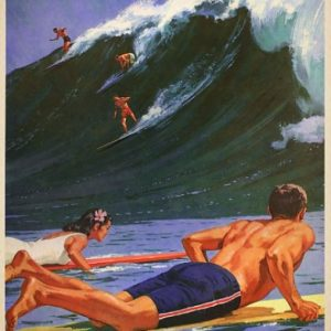 Poster Surfing everything will kill you so choose something fun