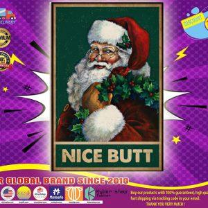 Satan claus nice butt poster