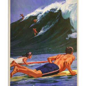 Surfing everything will kill you so choose something fun poster