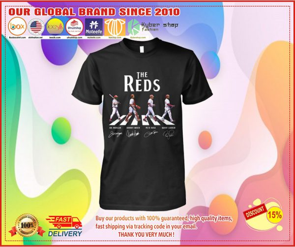 The reds abbey road shirt