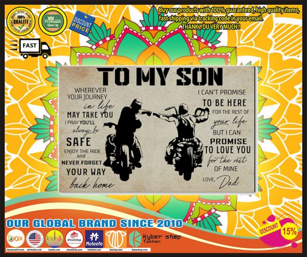 To my son poster