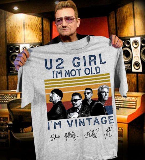 U girl Im not old Im vintage shirt