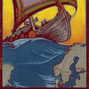 Viking world tour 793-1066 poster