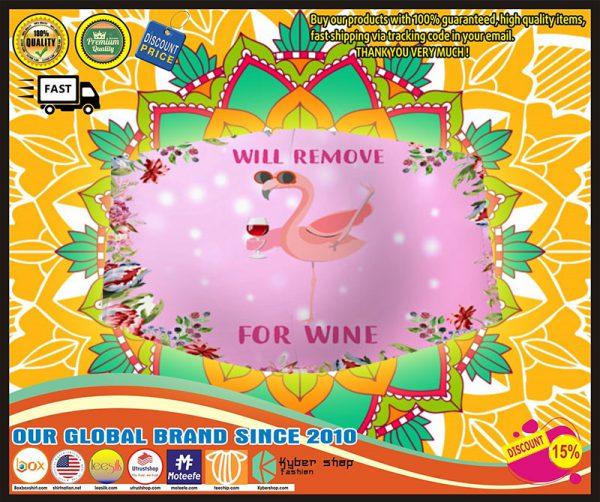 Will Flamingo remove for wine face mask