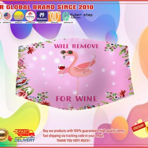 Will Flamingo remove for wine face mask