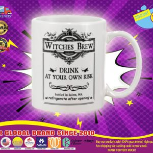 Witches brew drink at your own risk mug