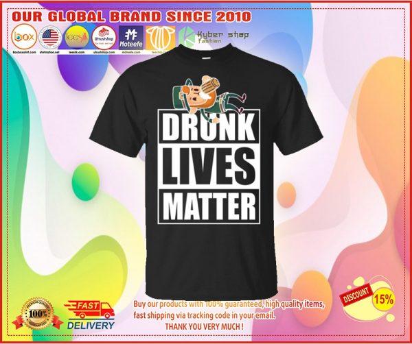 leprechaun Drunk lives matter shirt