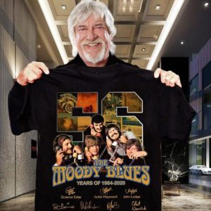 56 the moody blues years of 1964-2020 thank you for the memories shirt, hoodie