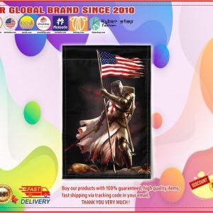 American knight flag
